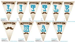 free baby shower mustache bash printable theme perfect for the