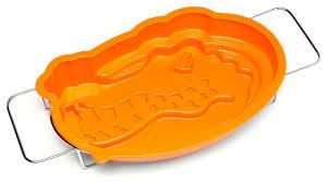 florida gators gator head cake pan with stand contemporary