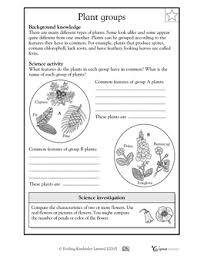 plant groups worksheets u0026 activities greatschools homeschool