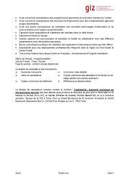 bureau d emploi giz tunisie offre d emploi le bureau de la giz