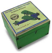 pioneer photo box weathered finish aviation pioneer postage st green wooden
