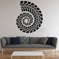popular live tracking sticker buy cheap live tracking sticker lots trail tire track sticker graphic conch wall art vinyl pattern decal decor school dorm living room