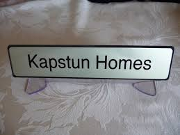 acrylic desk table name plate stand personalised graphix u0026 signs