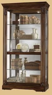 Oak Curio Cabinets Curio Cabinet Howardler Curio Cabinet 680485 Howard Miller Oak