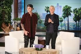 Ellen Bathroom Scares Justin Bieber And Ellen Degeneres Get U0027caught U0027 Making Out In The