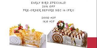 ik cuisine promotion doi chaang coffee singapore x log cake early bird 20