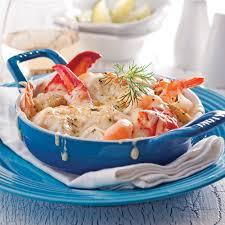 gratin de fruits de mer et pommes de terre grelots recettes