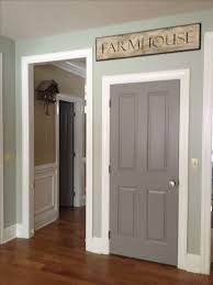 Painted Interior Doors Best 25 Painting Interior Doors Ideas On Pinterest Paint Paint For
