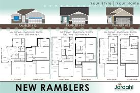 100 ranch rambler floor plans house plan walkout basement