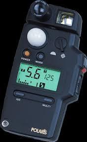 polaris incident light meter aspen corporation poralis poralis2 flashmeter