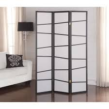 black 3 panel screen room divider free shipping today