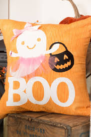 how to make an adorable boo lerina halloween pillow home with