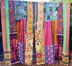 Hippie Curtains Gypsy Boho Curtains Hippie Drapes Panels Hippy Boho By Hippiewild