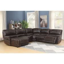 Sectional Sofas Brown Abbyson Cooper 6 Brown Sectional Sofa Free Shipping