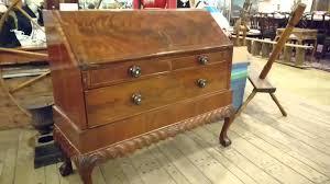 Antique Desk Secretary by Antique Desk Drop Front 1800 U0027s Youtube