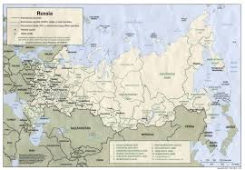 outline map of russia with cities russia and the former soviet republics maps perry castañeda map