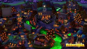 halloween city game halloween in farmerama city a wallpaper farmerama events