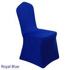 Chair Cover For Sale Aliexpress Com Buy Colour Royal Blue Banquet Chair Cover For