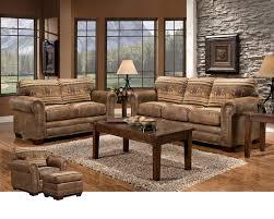 rustic livingroom furniture furniture classics horses 4 living room set