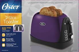 Cleaning Toaster Amazon Com Oster Tssttrjbp1 Jelly Bean 2 Slice Toaster Purple