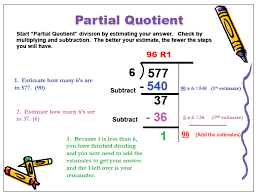 partial quotients worksheet 28 templates mrs leask s class