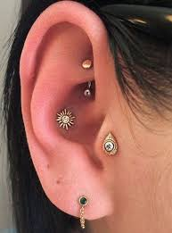 pierced ears without earrings 80 inner and outer conch piercing ideas you can t go wrong with