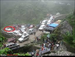 Rock Garden Darjeeling Storme Through The Kolkata To Darjeeling Gangtok Team Bhp