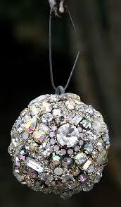 vintage rhinestones crystals orb sphere by asoulfuljourney