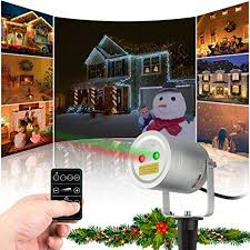 musical holiday light show timer amazon com 2 color motion laser light star projector with rf