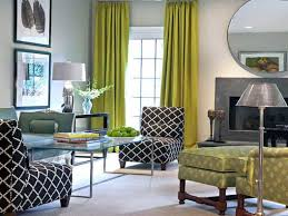 Long Living Room Curtains Use Solid Green Curtains In Long Size For A Your Living Room