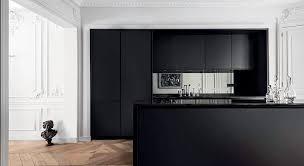 cuisine noir déco cuisine comment créer une cuisine tendance