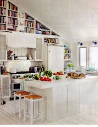 backyards trendy display kitchen islands with open shelving