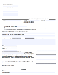 quick claim deed free download create edit fill and print