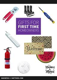 Gifts For Homeowners Gifts For First Time Homeowners Madness U0026 Method