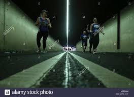 tunnel light marathon 2018 tunnel runners stock photos tunnel runners stock images alamy
