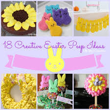 peeps decorations marshmallow goodness a collection of 18 creative peeps ideas