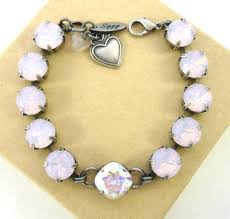 rose crystal bracelet images Jewels siggy rose water opal light pink soft pink powder pink jpg
