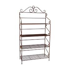 wood shelves for longaberger wrought iron kashiori com wooden