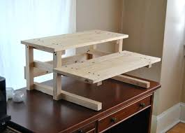 Stand Up Corner Desk Plans To Build A Computer Desk Eatsafe Co