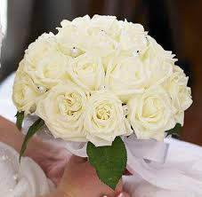 White Rose Bouquet Rose Bridal Bouquets