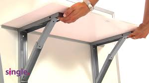 Folding Table Attached To Wall Wall Mounted Table Vulcano