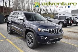jeep gray blue new 2018 jeep grand cherokee limited 4x4 true blue for sale serving
