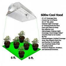 250 watt hid grow lights yield lab 600 watt cool hood hps and mh grow light kit grow light