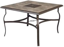 Square Patio Tables Square Patio Dining Table Outdoor Furniture Ceramic Tile Top