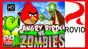 angry birds vs zombies doctor version shooting game walkthrough