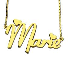 Gold Name Plate Necklace Online Shop Wholesale Gold Color Nameplate Necklace Personalized