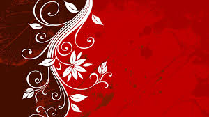 vector graphics floral red grunge wallpapers