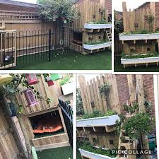 bespoke dog run with artificial grass covering a french drain for