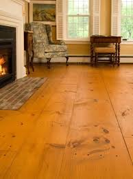 Wide Plank Pine Flooring The Enduring Of Soft Eastern White Pine