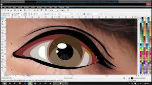 tutorial vektor dengan corel tutorial vektor mata menggunakan coreldraw peoples illustration